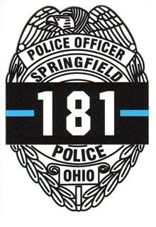 Police Office Springfield Ohio 181